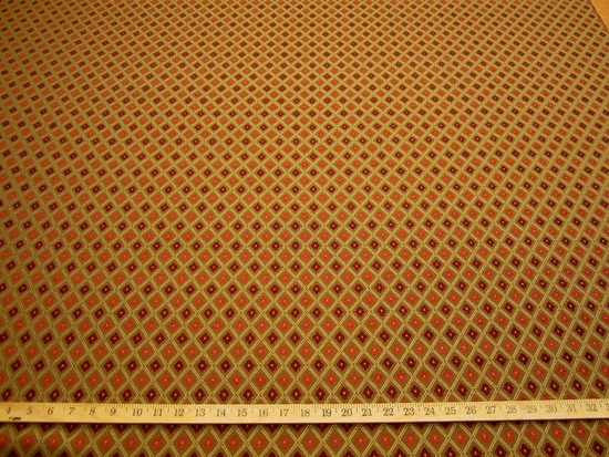 r9514, 2  3/4 yds Textured Diamond Design Upholstery