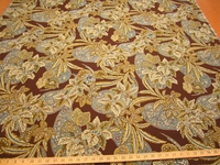 r9519, 4  1/4 yds Floral Tapesty Upholstery