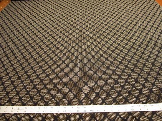 r9702, 2 yards of textured diamond upholstery fabric