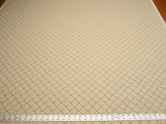 r9733, 6 3/4 yards of Covington Tabitha print cotton fabric