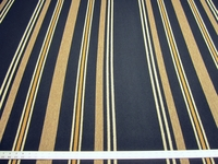 r9795, 6 3/8 yards of textured stripe upholstery fabric