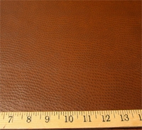 v142, Ostrich patterned vinyl upholstery fabric color chocolate