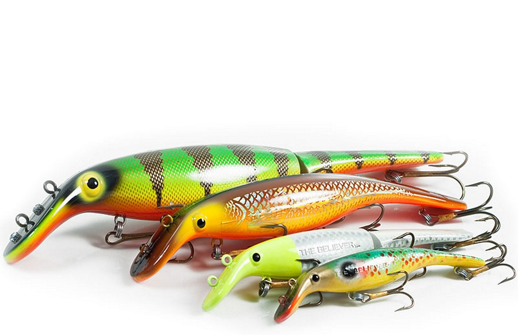 Drifter Tackle 6, 8, and 10 in  Jointed Believer Lures