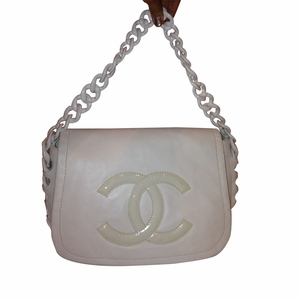 Mint! Authentic Vintage Chanel Brown Suede Leather Bag (SOLD!)
