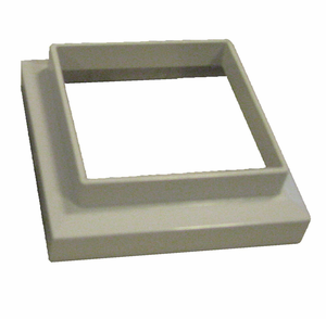 3 x 3 White Adapter for Imperial Solar Post Cap