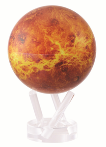 "4.5"" Venus MOVA Globe with automatic rotation feature"