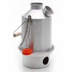 Aluminum Scout Medium Kettle by Kelly Kettle For Camping and Emergency Preparedness