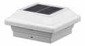 Aluminum Solar Post Cap Light for 4 inch Posts IP 68-Fully Waterproofed