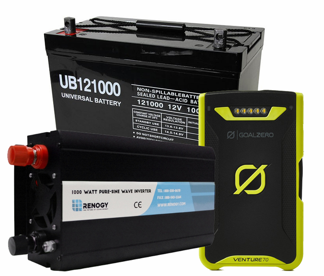 Portable Power Packs and Batteries – Earthtech Products
