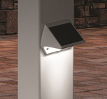 Classy Deck and Wall Light Available in White, Copper or Black