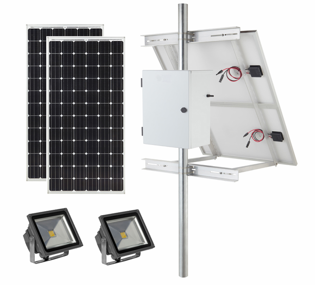 Commercial Solar Sign Lights Landscape Lighting