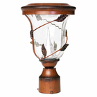 """Flora Solar Lamp Post - with 3"""" Pole Mount"""