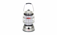 Forest Lantern by Bare Bones Living - Outdoor LED Lantern and Charger for USB Devices