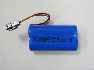 Gama Sonic Replacement Battery - for GS-97, GS-103 and GS-104 Series Lamps - Lithium Ion