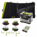 Goal Zero Camping Base Camp Solar Essentials Kit