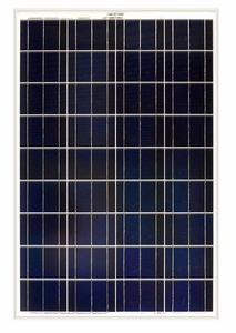 100-Watt Solar Panel for Expanding Solar Generator Kits - Includes MC4 Branch Connectors