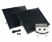 Humless 1500 Series .64 kWh Solar Generator with 1500 Watt Inverter & 260 Watts of Solar Panels