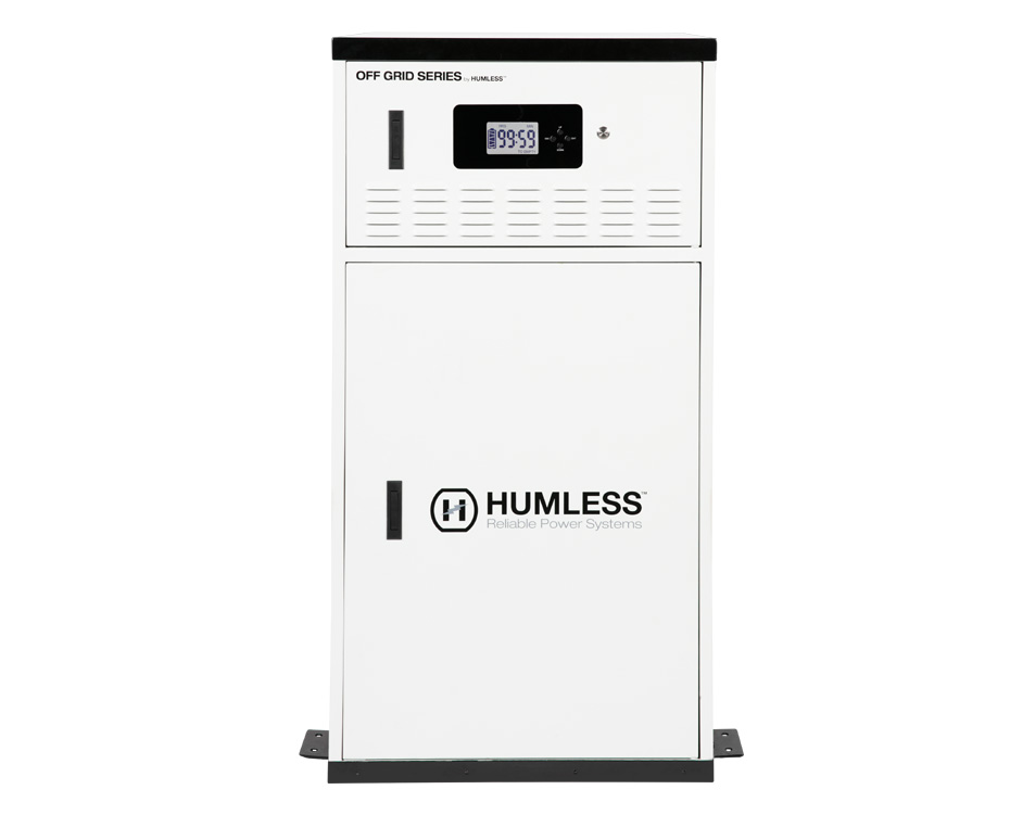 Humless Off-Grid Series 12 kWh (12,000 Watt Hour) Home
