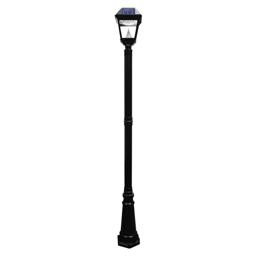Imperial ii solar lamp post single head aloadofball Image collections