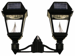 "Imperial II Solar Lantern - 3"" Fitter Double Head"