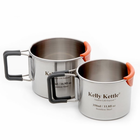 Kelly Kettle Camp Cups - Set Of 2