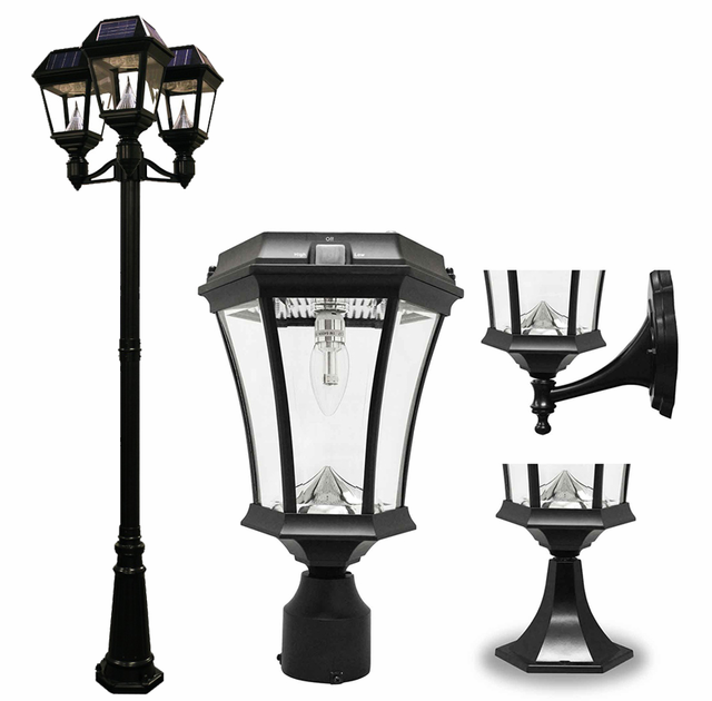 Outdoor Solar Lighting | Solar Lighting Fixtures