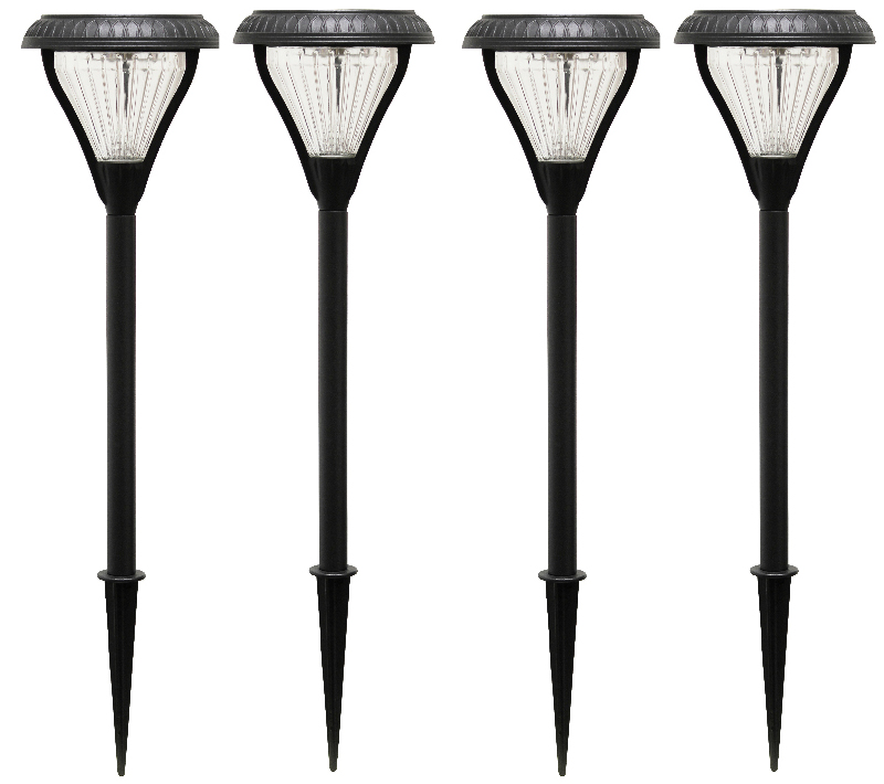light bronze landscape glass hammered solar depot mediterranean outdoor led hampton walkway bay lights with home pack the lighting path integrated lens p finish