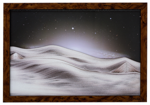 Sand Art Picture - Sombreros Galaxy - By Klaus Bosch