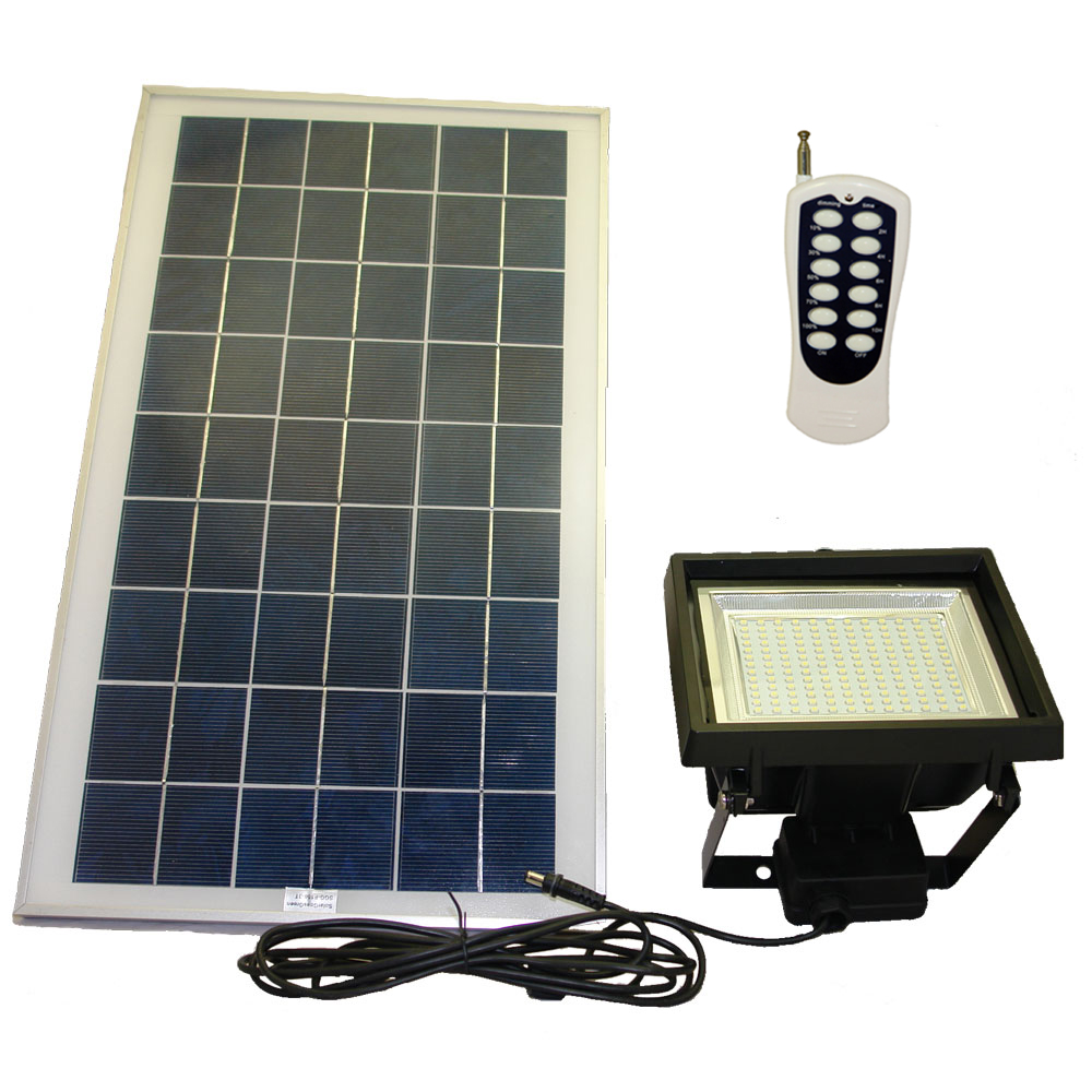 156 smd led solar flood light with remote control timer wall 156 smd led solar flood light with remote control timer wall mount ground stake aloadofball Gallery