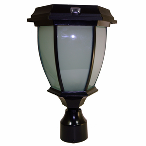 "Solar Coach Lamp with 3"" Fitter Mount"