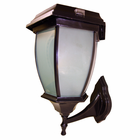 Solar Coach Lamp with Wall Mount