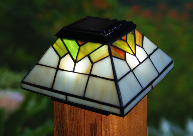 Solar Fence Post Cap Lights Outdoor Lighting