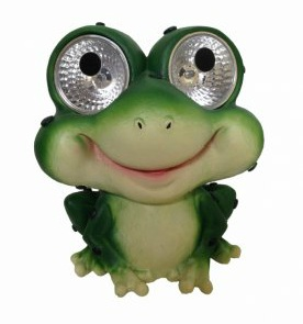 Superieur Solar Garden Pals Frog Set Of 2, Decorative Solar Light For Outdoor Areas