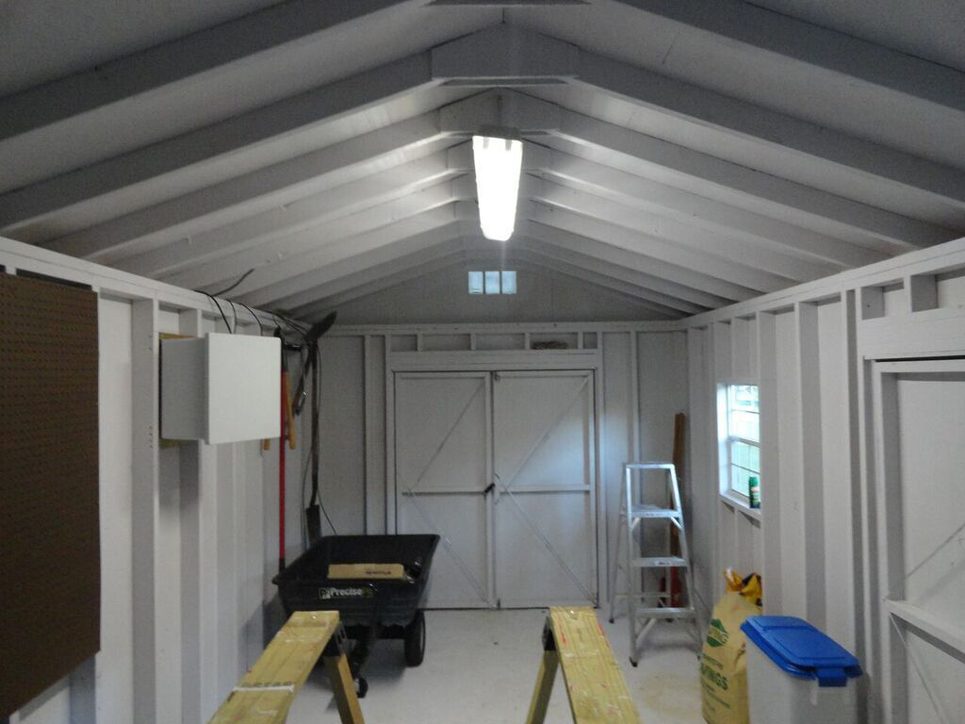 & Earthtech Products Solar Lighting Kit for Sheds Garages u0026 Cabins azcodes.com