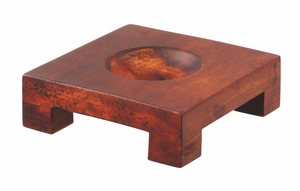 Square Natural Wood Base For 6-inch MOVA Globes