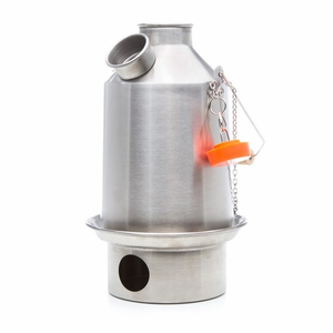 Stainless Steel Scout Medium Kettle By Kelly Kettle For Camping And Emergency Preparedness