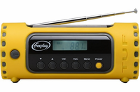 Freeplay Energy Tuf Radio - Solar and Crank Powered NOAA Weatherband, Cell Phone Charger, Multi-band Radio for Emergencies and Disasters