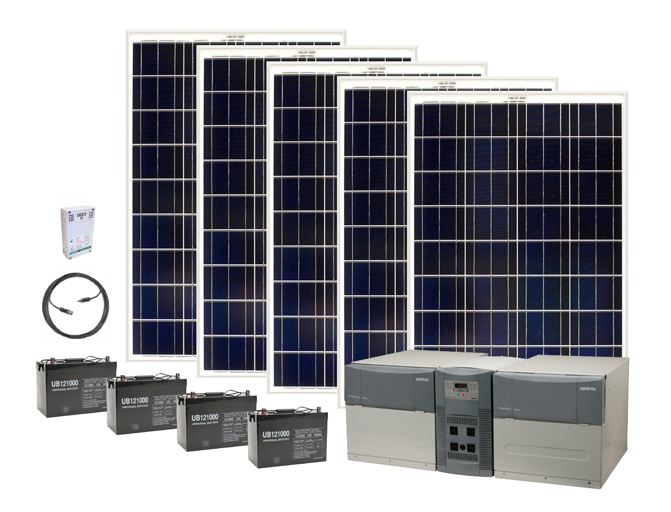 Earthtech Products Ultimate 4800 Watt Hour Solar Generator Kit With 500  Watts Of Solar Power For Homes And Off Grid. Regular Price: $2,489.00