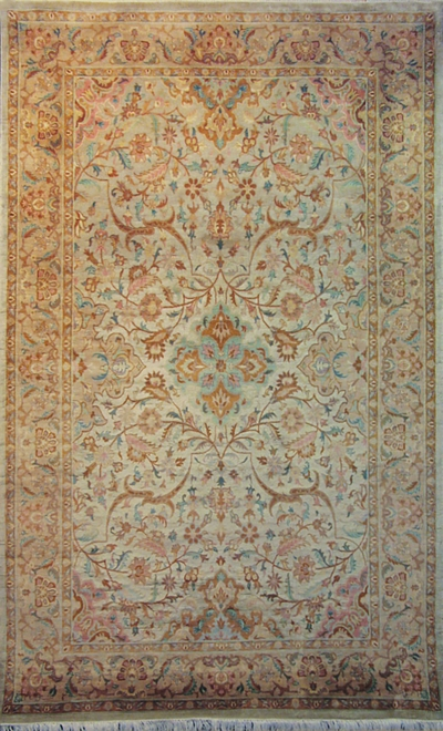 "Antique Qum : 8'4"" x 5'1"""