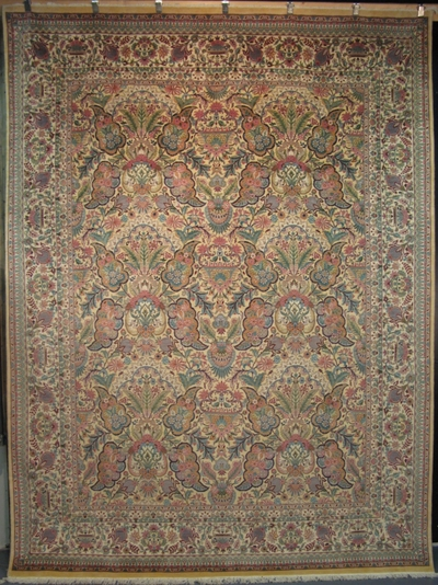 "Arts & Crafts by William Morris : 10'8"" x 8'"