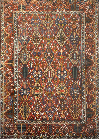 tapis bakhtiar tapis antique grand tapis persan grand tapis tapis de laine tapis. Black Bedroom Furniture Sets. Home Design Ideas