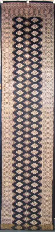 "Diamond Bokhara: 12'5"" x 2'7"""
