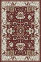 Florence Red: 8' x 5'