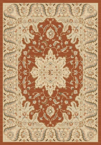 Hereke Classic Rouge Brique : 8' x 5'