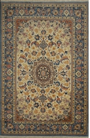 "Isfahan Semi-Antique Rug, circa 1950: 5'4"" x 3'5"""