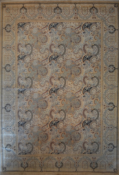 "Isfahan fin - Arts & Crafts de William Morris : 17'6"" x 12'"