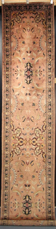 "Isfahan voile nuageux : 13'4"" x 2'7"""