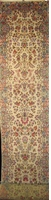 "Kerman- Semi Antique Vers 1950: 24'2"" x 2'9"""