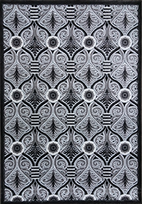 Lalee Silver: 3' x 10'