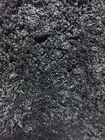 Micro Shaggy 2 Dark Grey: 5' x 8'